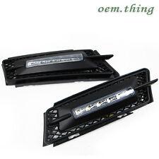 BMW E90 3 SERIES Daytime Running FogLight 5 LED DRL BEFORE FACELIFT 06-08 ○