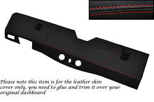 RED STITCH BOTTOM DASH DASHBOARD COVER FITS LAND ROVER DEFENDER 90 110 83-06