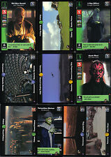 STAR WARS YOUNG JEDI BATTLE OF NABOO SET OF 10 STARTER CARDS
