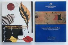 2 Auction Catalogs Impressionist & Modern Art 1989 & 1990 Habsburg Feldman NYC