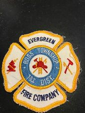 Evergreen Fire Company Patch