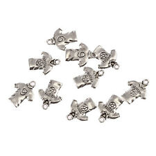 Set - 5 New SOCCER Charms - ONE EACH (pictured)Tibet Silver Alloy Free Shipping