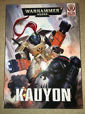 Warhammer 40000 40k Raven Guard Tau Kauyon Damocles Campaign set excellent cond