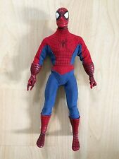 """Spider-Man Figure In Material Costume Height Approximately 9"""""""