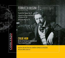 Busoni / Nuova Orche - Ferruccio: 150th Anniversary [New CD]