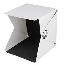 Portable Mini Photo Studio Box Photography Backdrop built-in Light Photo Box FH4