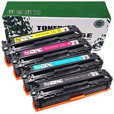 4 Pack High Yield CF400X 201X Toner Black Color Set For HP LaserJet M252dw M277n