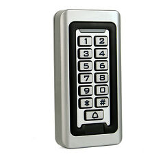 New Waterproof IP68 Keypad Standalone Access Control Home Door Entry Controller