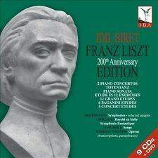 Liszt 200th Anniversary Edition Box Set (CD, Nov-2011, IBA [Idil Biret...