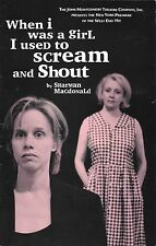 Playbill - WHEN I WAS A GIRL, I USED TO SCREAM AND SHOUT - August 1998 - NM