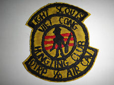 US Army D Troop 1/10 Cavalry LIGHT SCOUTS Vietnam War Hand Sewn Patch