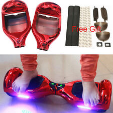 DIY Chrome Red Cover Shell for Smart 2 Wheel Self Balance Hover board Scooter