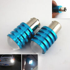 2 Pcs 1157 BAY15D White Cree Q5 7W LED DC 12V Tail Turn Signal Lights Bulb Lamps