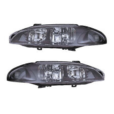 97-99 MITSUBISHI ECLIPSE/SPIDER HEADLIGHTS FRONT LAMPS PAIR SET