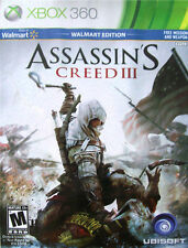 Assassin's Creed III (Walmart Edition) (Xbox 360) Complete Disc, Case & Manual