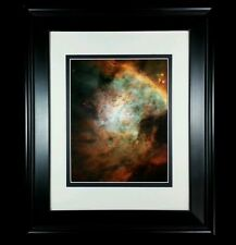 Hubble Telescope, Orion Nebula Deep Space Universe: Matted Framed Wall Art Print