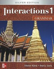Interactions Level 1 Grammar by Elaine Kirn and Darcy Jack (2008, Paperback /...