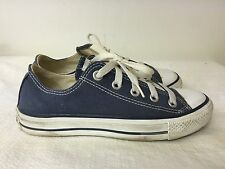CHUCK TAYLOR CONVERSE ALL STAR denim Blue Low Top Shoes Men 4 Women 6 Classic