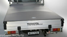 TOYOTA HILUX TONNEAU COVER DUAL CAB TRAY TYPE FROM SEPT 11  1840 X 1800