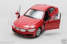 Welly 1:34-1:39 DIECAST BMW 335i Car Red Model COLLECTION Christmas New Gift