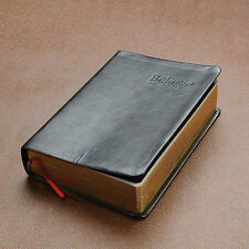 Vintage PU Leather Cover Thick Blank paper Notebook Memo Journal Notepad