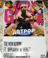 Lady Gaga ARTPOP 2013 Taiwan Promo Poster (Applause Venus)