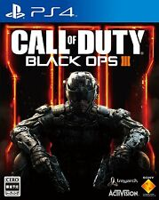 New!! PS4 CALL OF DUTY BLACK OPS Ⅲ for PlayStation4 import from Japan!