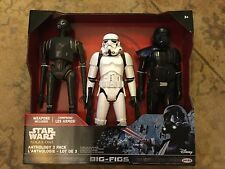 Star Wars Rogue una gran higos 3-Pack K-2S0, Stormtrooper, muerte Trooper