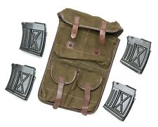Romanian PSL 4 Original Surplus Magazines in a Canvas Pouch 7.62x54r
