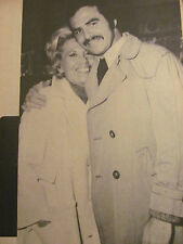 Burt Reynolds and Dinah Shore, Full Page Vintage Pinup