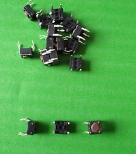 Tact Switch 6 mm 6 x 6 Round 4.3mm Button Raised DTSA-61N x 20pcs  or ONO