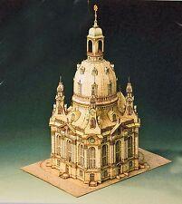 Frauenkirche Dresden 1:300 Detailliertes Modell Bastelbogen J. F. Schreiber