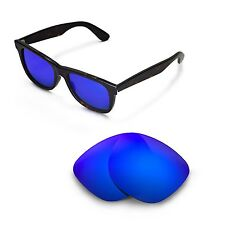 New Walleva Polarized Ice Blue Lenses For Ray-Ban Wayfarer RB2140 54mm