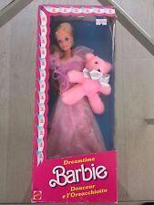Barbie Dreamtime Muñeco Coleccionable Con Original Osito De Peluche-Caja Sin Abrir - 1984