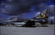 Original colour slide F-16A Fighting Falcon spcl. FA112 of 1 Sqdn. Belgian AF