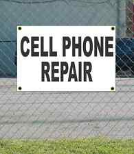 2x3 CELL PHONE REPAIR Black & White Banner Sign NEW Discount Size & Price