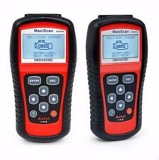 2 X Car Scanner Diagnostic Live Data Code Check Engine EOBD OBD2 OBDII MS509
