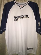 Milwaukee Brewers Practice Jersey Large