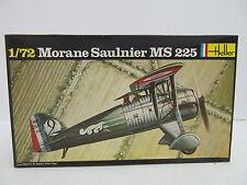 eso-11317 Heller 216 1:72 Morane Saulnier MS 225 Bausatz geöffnet,