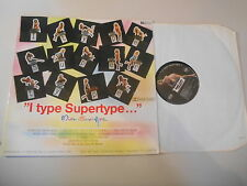LP Pop Miss Supertype - I Type Supertype (14 Song) PRIVATE PR Charles Wilp