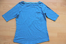 BODEN  blue Lightweight Boatneck tee  size 12  great condition WL713