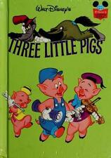THE THREE LITTLE PIGS (Disney's Wonderful World of Reading)-ExLibrary