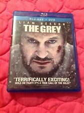 THE GREY BLU-RAY 2011 ACTION THRILLER MOVIE LIAM NEESON