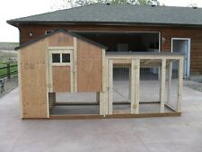 Chicken coop & storage, framing plan with material list, The 6 X 4 Kennel Coop