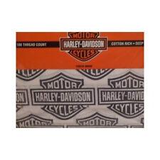 HARLEY DAVIDSON  TWIN SHEET SETS Cotton Blend Licensed by Harley Davidson