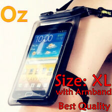Waterproof Mobile Case with Armband, XL Size Supr-G Locking System for Any Phone