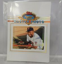 1993 Topps Stadium Club Master Photo Set Of 12 Ripken/Puckett/Roberts/Baerga  B