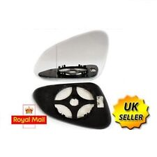 Vauxhall Insignia 2008+ left passenger Side heated electric wing mirror glass E