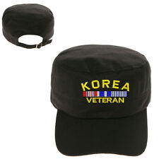 KOREA VETERAN MILITARY CADET ARMY CAP HAT HUNTER CASTRO