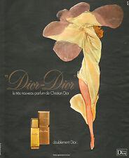 Publicité Advertising 1976  ( René Gruau )  Parfum pour femme